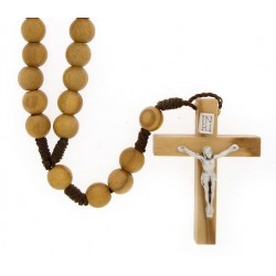 Rosary rope  Olive wood