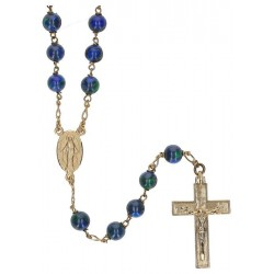Rosary gold plated...