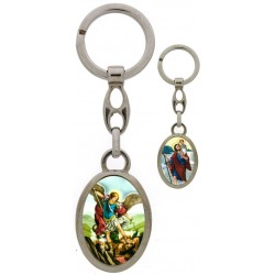 key ring  St Michael / St...