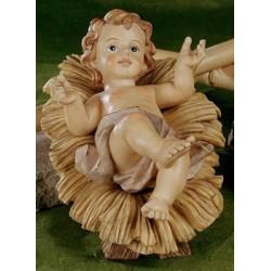 Child Jesus  26 cm  Cradle