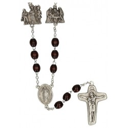 Rosary of the Cross  Wood...