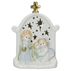 Nativity Porcelain tealight...