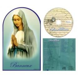Cd+enveloppe Ave Maria Banneux
