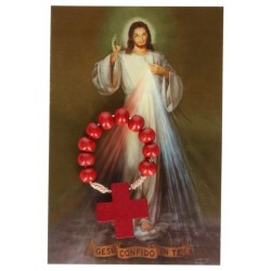 Rosary on cord picture...