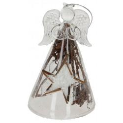 Angel 12cm  Glass