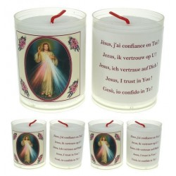 Set of 4 candles  Merciful...