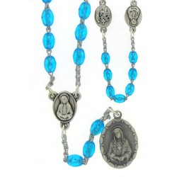 Rosary of the 7 Sorrows  Blue