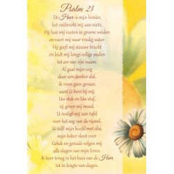 Double Card  Me  Psalm 23