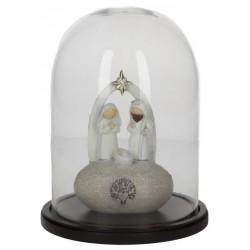 Modern Nativity in a 20cm...