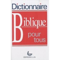 Dictionnaire biblique pour...