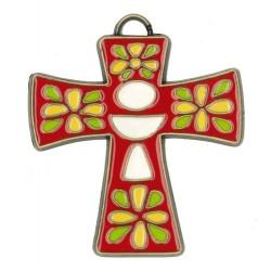 Bronze Cross 8x7 Red...