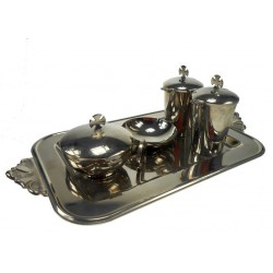 Baptism Set Stainless Steel