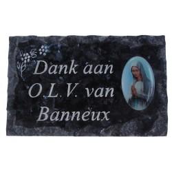 Plate of cemeteries Dank...