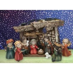 Christmas stable 11 figures...