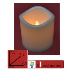 Candle On Batteries Diam...