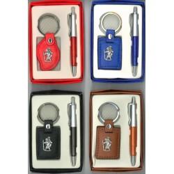 Set Sleutelhanger H. Kristoffel + Pen