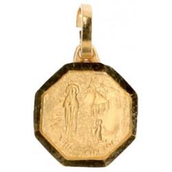Medaille Banneux Versch. Verguld