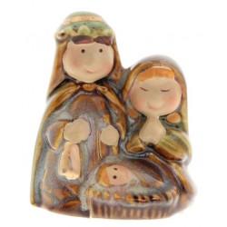Kleine porseleinen Heilige Familie (6,5 cm)